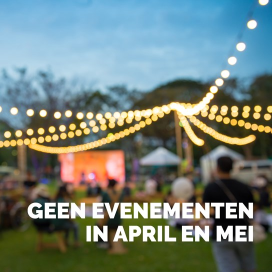 grote weergave annulatie events mei april corona
